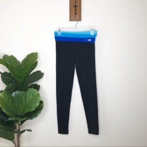 Victoria's Secret PINK blue band leggings